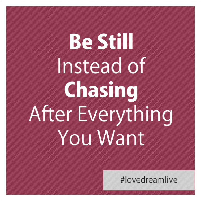 be-still-instead-of-chasing
